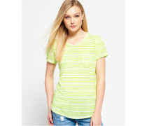 Essentials Sheer Stripe T-Shirt grün