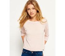Burnout Nordic Boxy Shirt pink