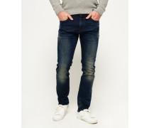 Slim Jeans marineblau