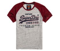 Premium Goods Raglan-T-Shirt hellgrau
