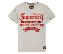 Tokyo Brand Heritage Classic T-Shirt dunkelgrau