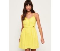 Jessie Trägerkleid mit V-Ausschnitt gelb