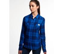 Super Classic Boyfriend Hemd blau