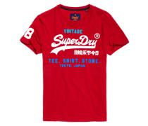 Shirt Shop Tri T-Shirt rot