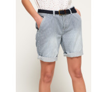 International City Shorts blau