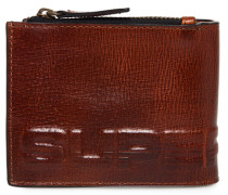 Profile Lederbrieftasche in der Geschenkbox braun