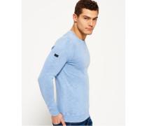 Garment Dyed L.a. Crew Neck Sweatshirt grau