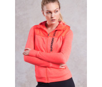 Sport Hybrid Jacke orange