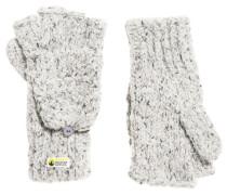 Clarrie Handschuhe mit Ziernaht hellgrau