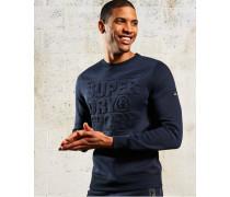 Gym Tech Rundhals-Sweatshirt blau