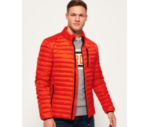 Core Daunenjacke orange