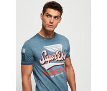 High Flyers Slub T-Shirt blau