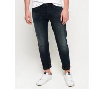 Straight Jeans marineblau