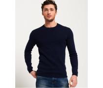 Rundhals-Sweatshirt aus Supima Baumwolle