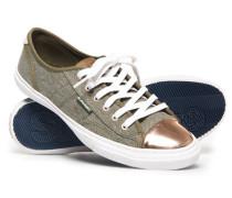 Niedrige Pro Luxe Sneaker grün