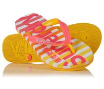 Eva Stripe Flipflops pink