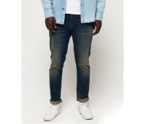 Schmal geschnittene Tyler Jeans marineblau