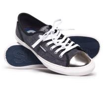 Niedrige Pro Luxe Sneaker schwarz