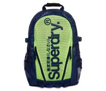 Tarp Rucksack mit Netzstoff blau