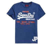 Shirt Shop Duo T-Shirt blau