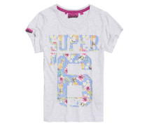 Super No.6 T-Shirt hellgrau
