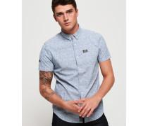 Kurzärmeliges Shoreditch Button-Down-Hemd mit kurzen Ärmeln