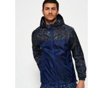 Elite Sports Regenjacke mit Kapuze marineblau