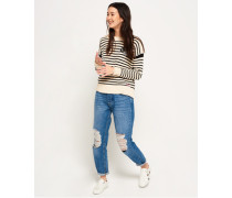 Harper Boyfriend-Jeans blau