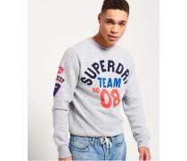Famous Flyers Sweatshirt mit Rundhalsausschnitt