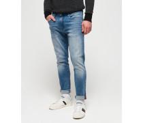 Schmal geschnittene Tyler Jeans blau