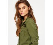Military Hemd grün
