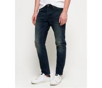 Loose Jeans blau