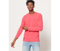 Dry Originals Langarm-T-Shirt mit Tasche pink