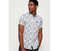 Kurzärmliges Shoreditch Button-Down-Hemd mit kurzen Ärmeln