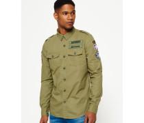 Army Corps Lite Langarmhemd grün