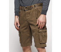 Core Heavy Cargo-Shorts beige