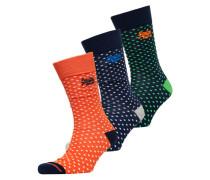 City Socken im 3er-Pack in einer Box bunt