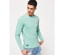 Dry Originals Langarm-T-Shirt mit Tasche grün