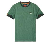 Cali Ringer T-Shirt grün