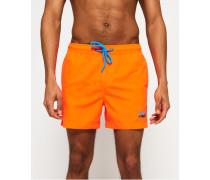 Beach Volley Badeshorts orange