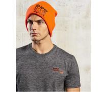 Fold Sport Beaniemütze orange