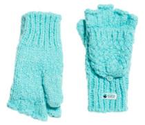 Clarrie Handschuhe mit Ziernaht türkis