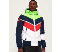 Mountain Range Steppjacke marineblau