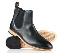 Premium Meteor Chelsea Boots schwarz