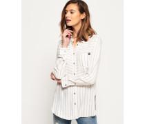 Tatum Hemd mit Streifen creme