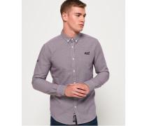 Premium Button-down-Hemd lila