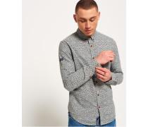Ultimate Oxford-Hemd mit Waschung hellgrau