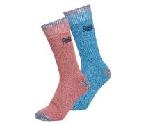Dry Mountaineer Socken blau