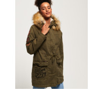 Rookie Heavy Weather Tiger Parka grün