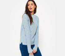 Hennie Diamond Strickpullover blau